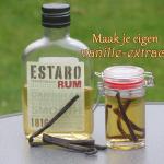 Maak je eigen vanille-extract