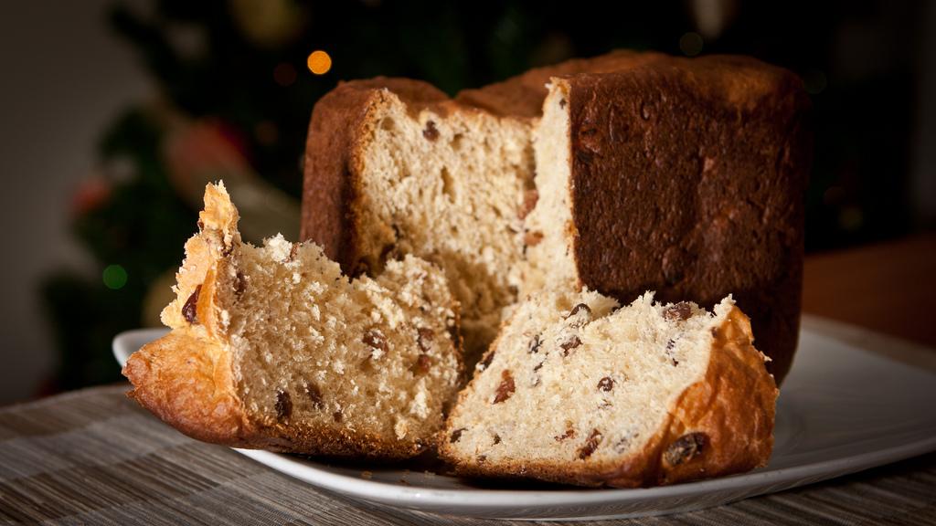 Homemade Panettone with bread machine - IMG_8388