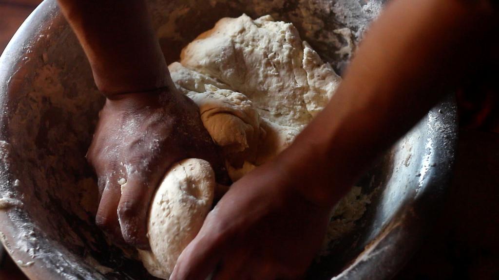 Hot fried Samosa from Nepal - 1