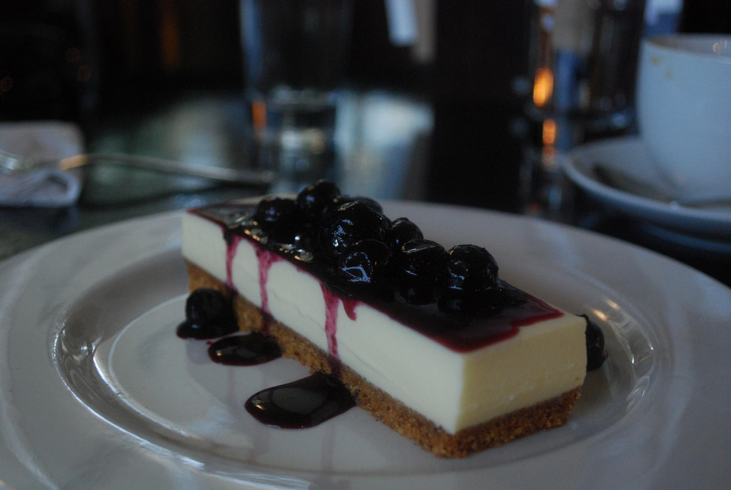 Goats Curd Cheese Cake - Giant Steps Winery AUD11