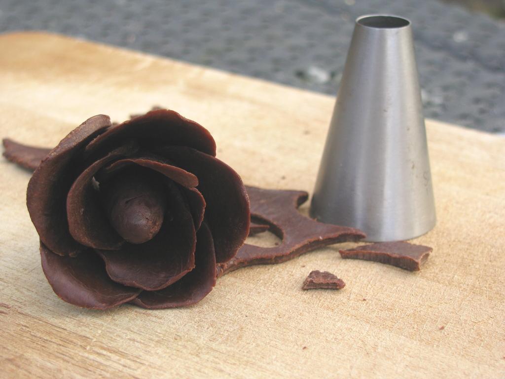 Chocolade roosje