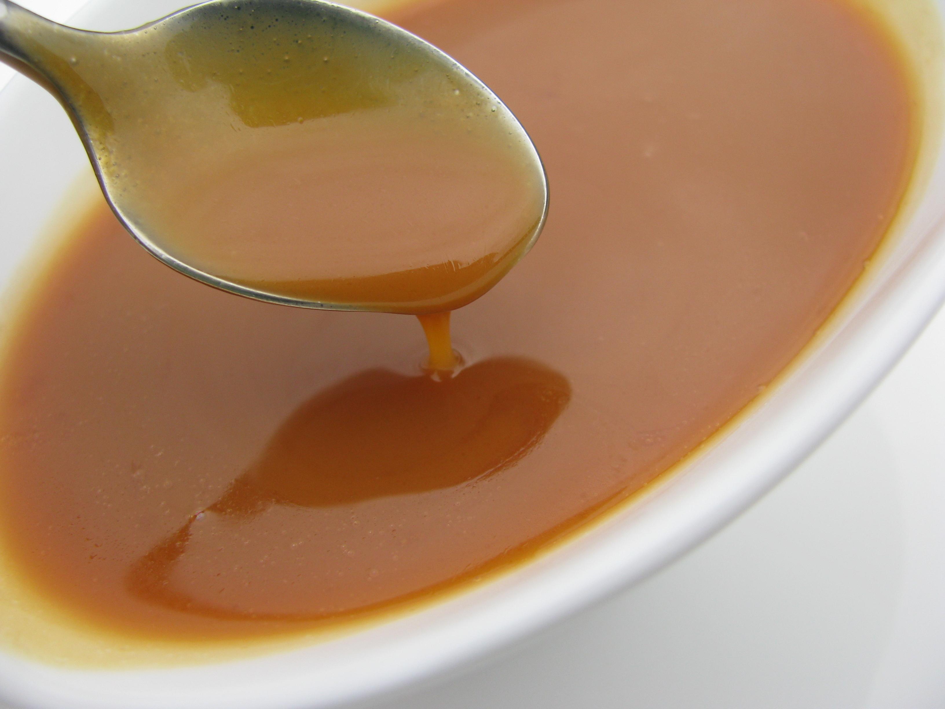 Karamelsaus recept