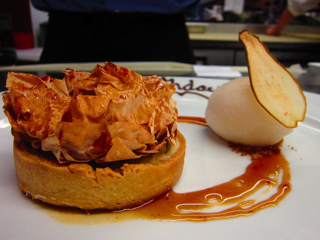 Chestnut Clafoutis Tart