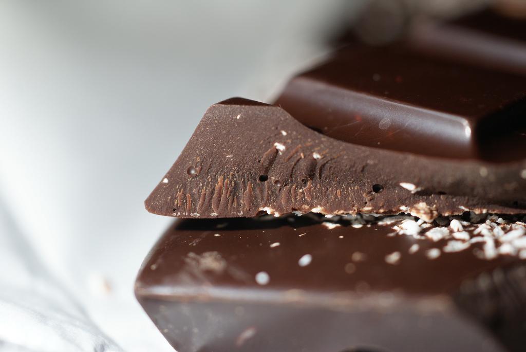 chocolade wit uitgeslagen