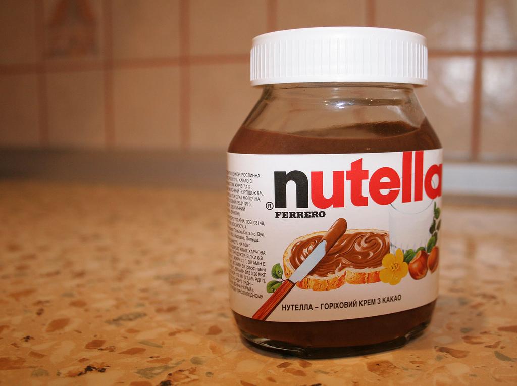 Nutella, breakfast of champions