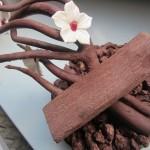 Overgetableerde chocolade