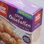 Oviebollen: oliebollen uit de oven