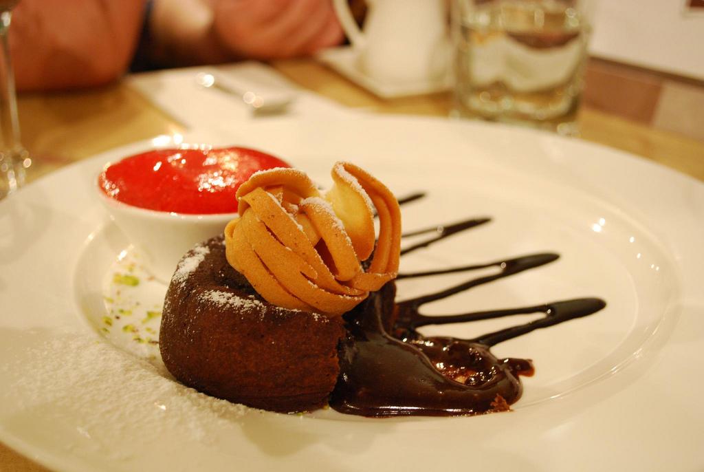 Molten insdes - Chocolate Molleaux - Koko Black Carlton AUD13