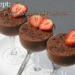 Recept: Pure chocolademousse met amarena-kersen