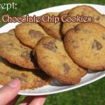 Recept: Chocolate Chip Cookies