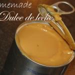 Homemade karamel: Dulce de leche